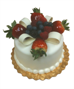 Berry Bouquet Cake